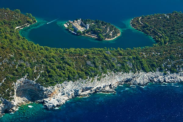 Mljet in Kroatien